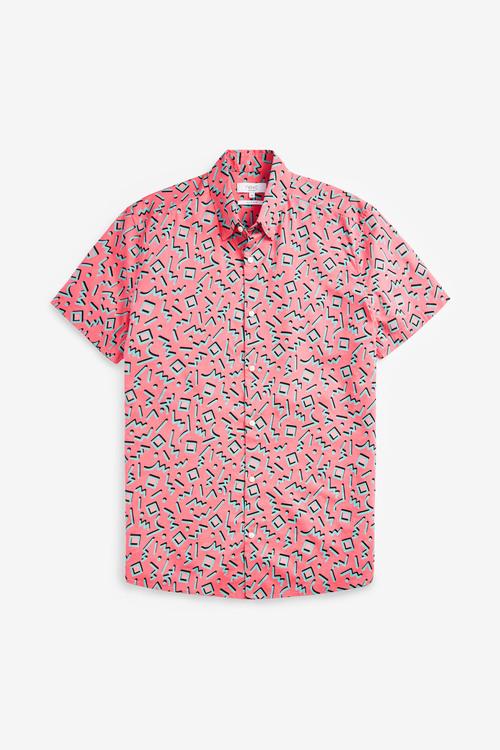 Next Print Short Sleeve Shirt