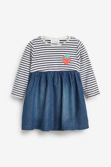 Next Stripe Dress (0mths-2yrs) - 257550