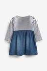 Next Stripe Dress (0mths-2yrs)