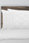 Royal Comfort Luxury Bamboo Quilted Pillow Twin Pack
