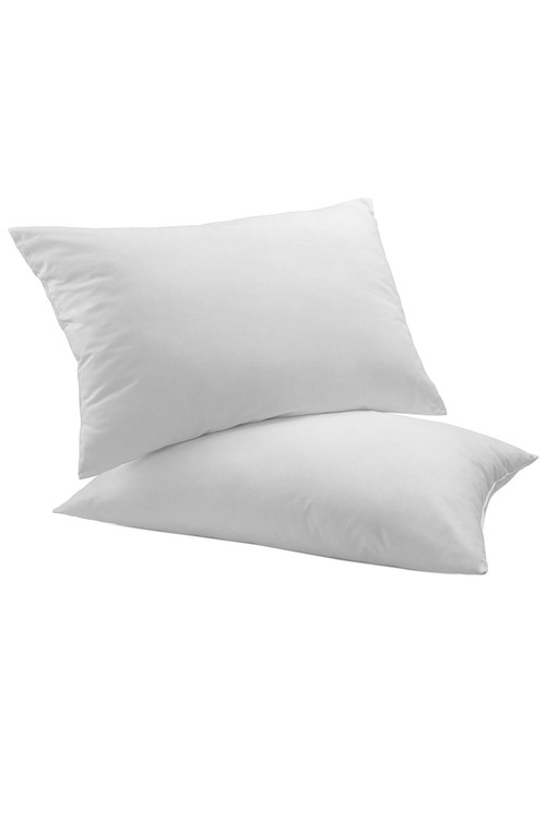 Royal Comfort Luxury Duck Feather and Down Pillow Twin Pack