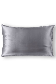 Royal Comfort Charcoal 100% Dual-Sided Pure Silk Pillowcase - 257573