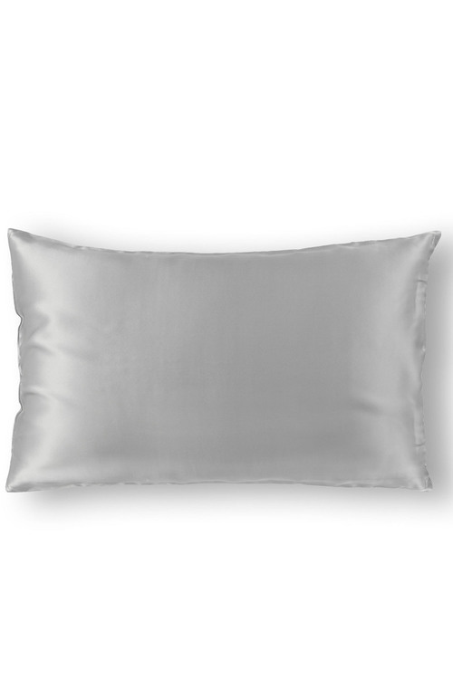 Royal Comfort Silver 100% Dual-Sided Pure Silk Pillowcase
