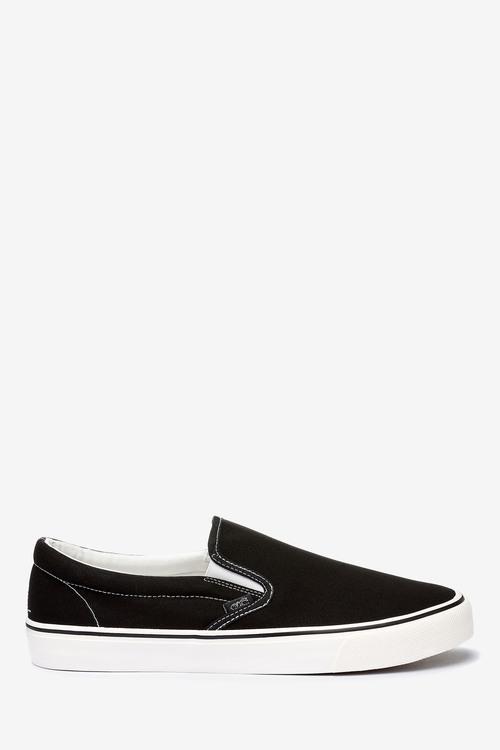 Next Canvas Slip-On Shoes