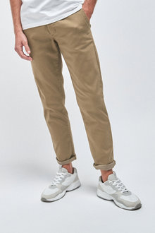 Next Motionflex Stretch Chino Trousers-Slim Fit - 257584