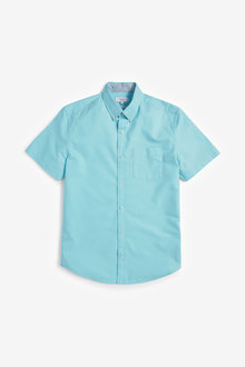 Next Short Sleeve Oxford Shirt - 257585