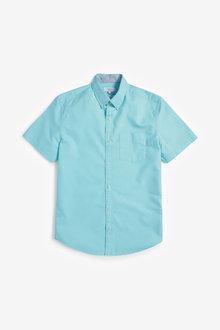 Next Short Sleeve Oxford Shirt - 257585