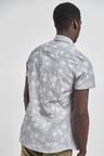 Next Floral Print Shirt-Slim Fit