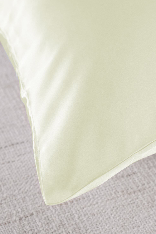 Royal Comfort Ivory Silk Pillowcase Twin Pack