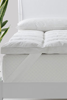 Royal Comfort 1800gsm Duck Feather and Down Mattress Topper - 257605