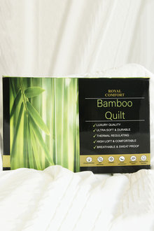 Royal Comfort 350gsm Boxed Bamboo Quilt - 257606