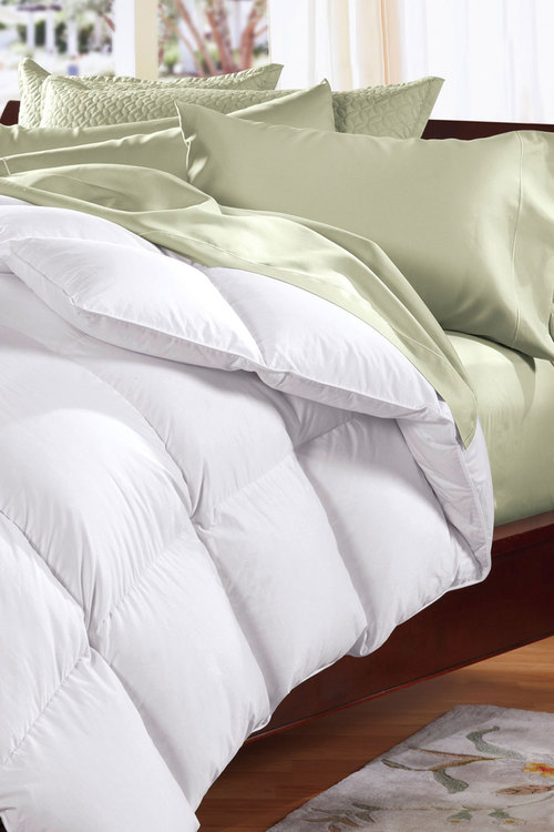 Royal Comfort Pure Soft 500gsm Goose Feather and Down Quilt