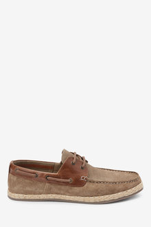 Next Suede Boat Shoes - 257611