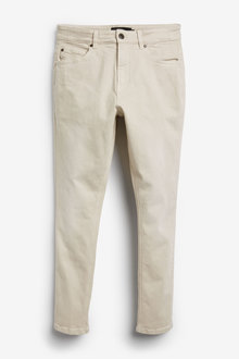 Next Garment Dyed Jeans With Stretch-Skinny Fit - 257617