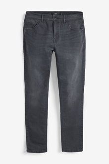 Next Garment Dyed Jeans With Stretch-Slim Fit - 257619