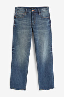 Next Jeans With Stretch-Loose Fit - 257621