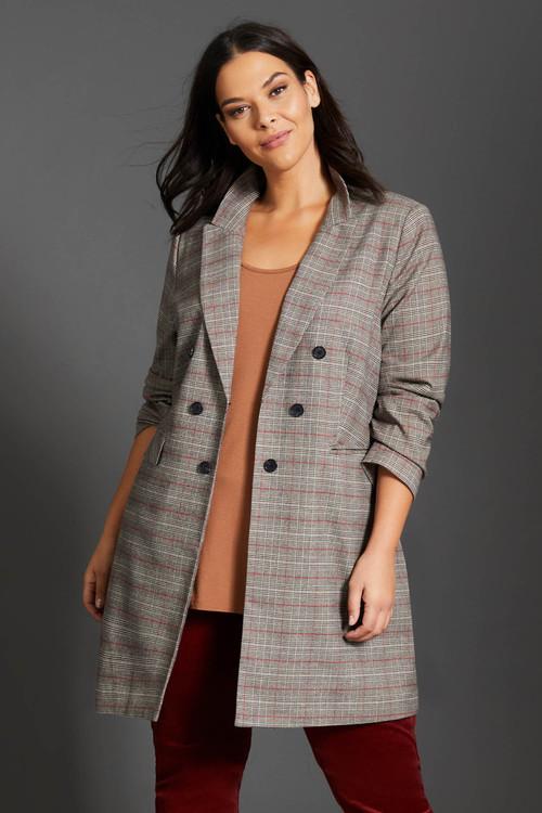 Sara Longline Coat