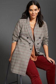 Sara Longline Coat - 257661