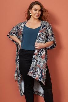 Sara Chiffon Kimono - 257663