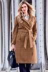 Kaleidoscope  Check Coat