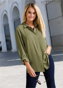 Euro Edit Concealed Button Shirt - 257689
