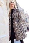 Kaleidoscope Houndstooth Coat