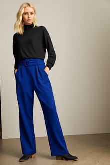 Emerge High Waist Belted Pant - 257700