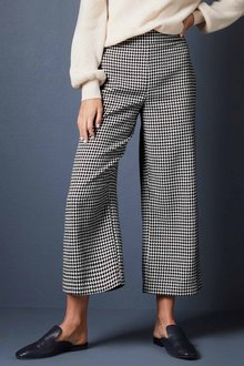 Emerge Houndstooth Wide Leg Pant - 257701