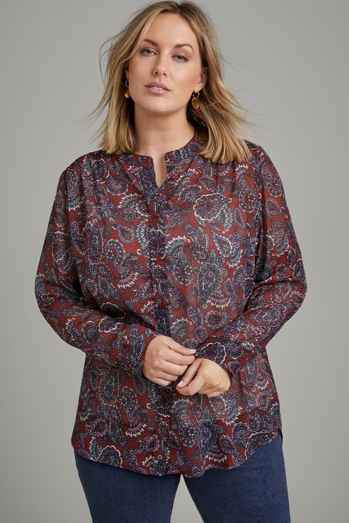 Sara Long Sleeve Classic Shirt