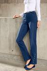 Euro Edit Hem Detail Pull-On Jean