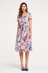 Heine Floral Waist Tie Dress