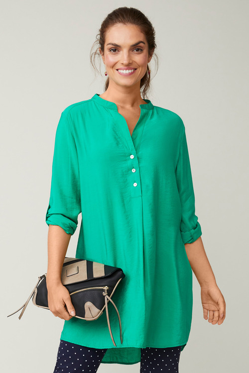 Capture Longline Blouse