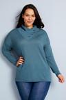 Sara Merino Cowl Neck Sweater
