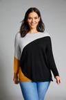 Sara Merino Spliced Sweater
