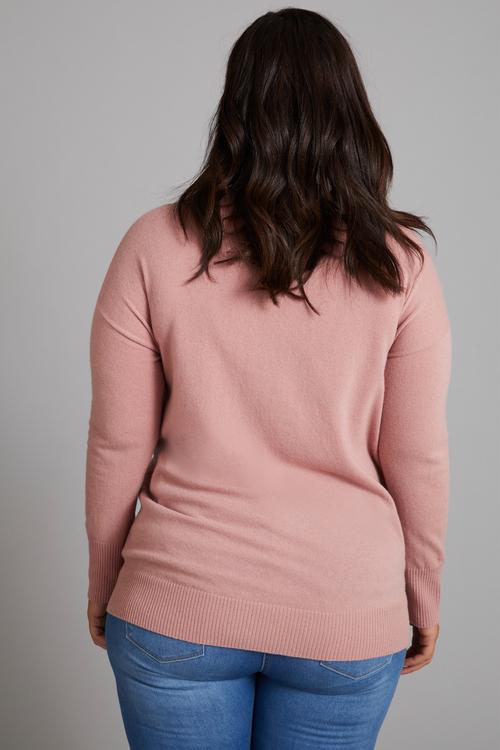 Sara Lambswool Hi Neck Sweater