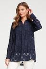 Heine Floral Chiffon Jaquard Shirt