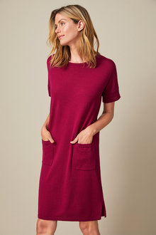 Capture Merino Pocket Dress - 257956