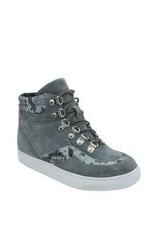 Human Premium Vibe Lace Up Wedge Sneaker - 257970