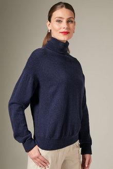 Grace Hill Cashmere Blend Roll Neck - 257974