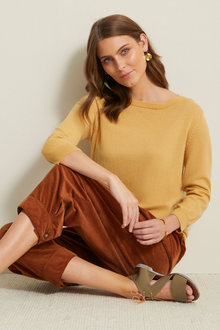 Grace Hill Cashmere Blend Sweater - 257979