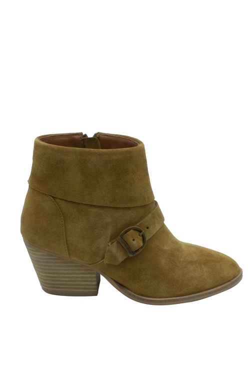 Soda Sands Strap Ankle Boot