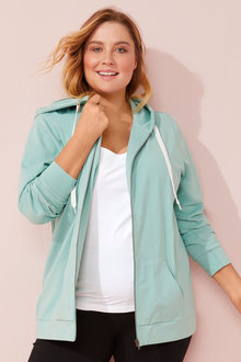 Sara Zip Up Hoody - 258014