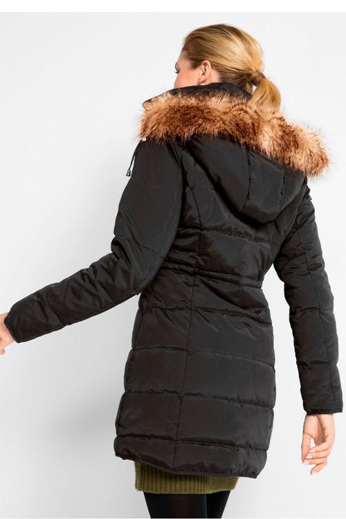 Urban Fur Trim Hooded Puffer