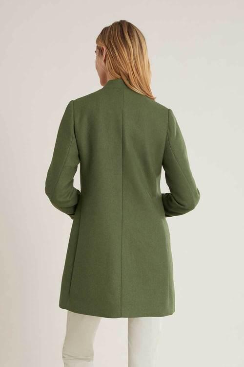 Urban Frill Detail Short Coat