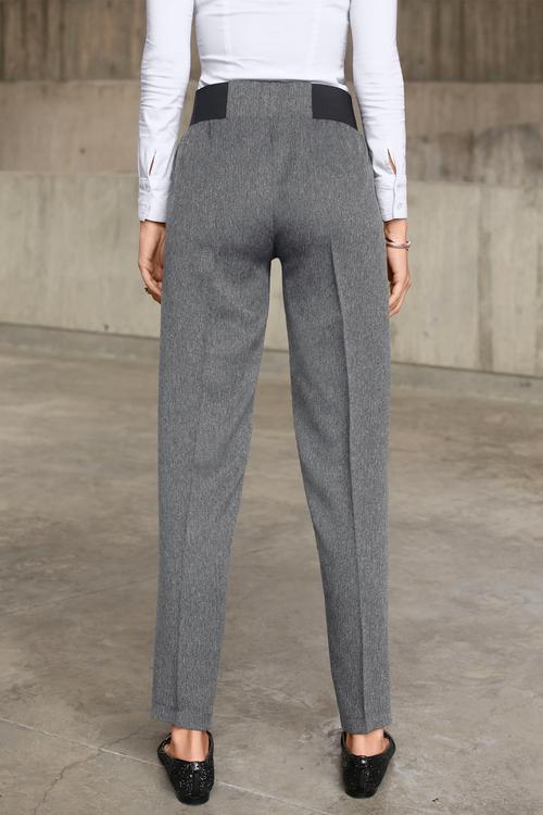 Euro Edit Elastic Waist Trouser