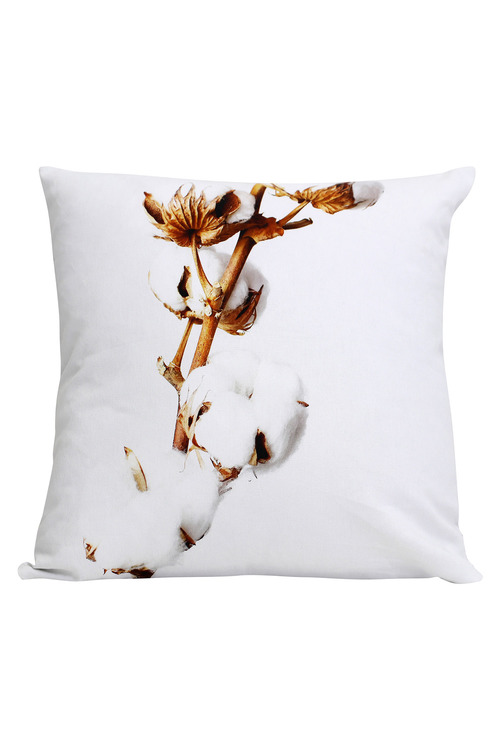 Splosh Dusk Cotton Branch Cushion