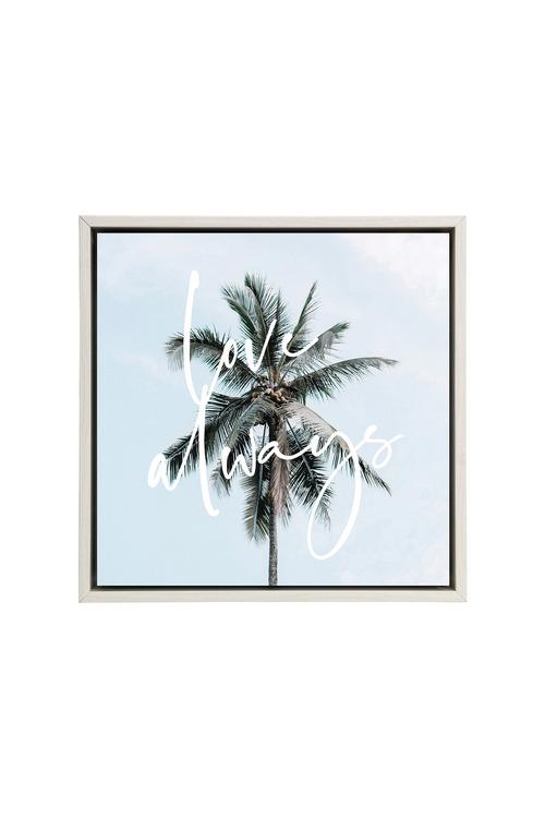 Splosh Tranquil Love Always Framed Canvas