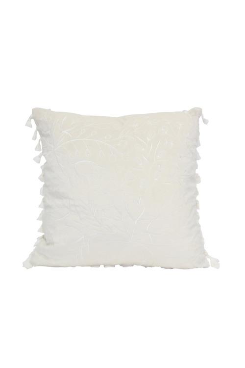 Splosh Full Bloom White Floral Cushion