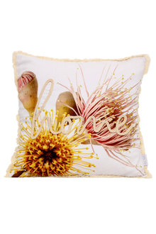 Splosh Flourish Embroidered Home Cushion - 258265