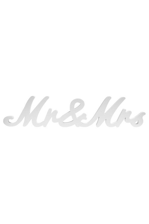 Splosh Wedding Mr & Mrs Table Word